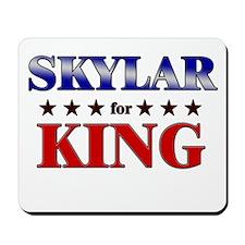 SKYLAR for king Mousepad