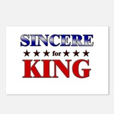 SINCERE for king Postcards (Package of 8)