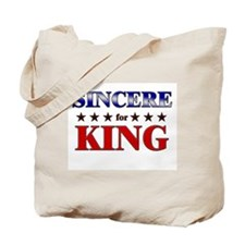 SINCERE for king Tote Bag