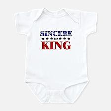 SINCERE for king Infant Bodysuit