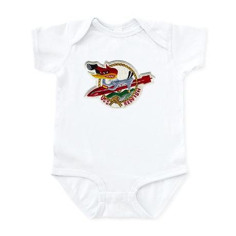 USS REDFISH Infant Bodysuit