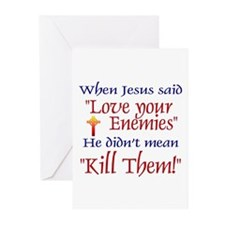 """Greeting Cards (Pk of 10) - When Jesus said """""""