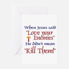 Greeting Cards (Pk of 10) - When Jesus said ""