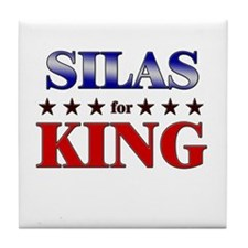 SILAS for king Tile Coaster