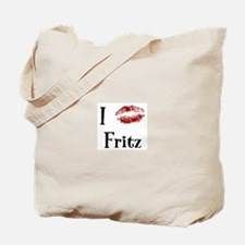 I Kissed Fritz Tote Bag