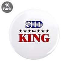 "SID for king 3.5"" Button (10 pack)"
