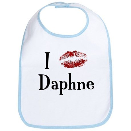I Kissed Daphne Bib