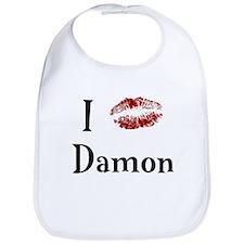 I Kissed Damon Bib