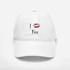 I Kissed Fez Baseball Baseball Cap
