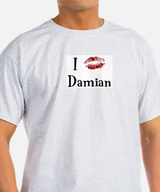 I Kissed Damian T-Shirt