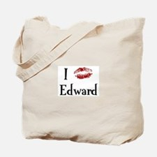 I Kissed Edward Tote Bag