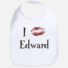 I Kissed Edward Bib