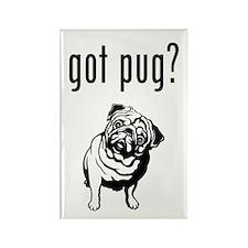 got pug? Rectangle Magnet