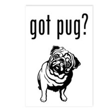 got pug? Postcards (Package of 8)