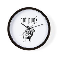 got pug? Wall Clock