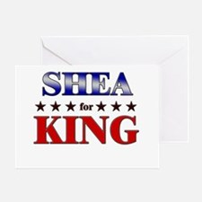 SHEA for king Greeting Card