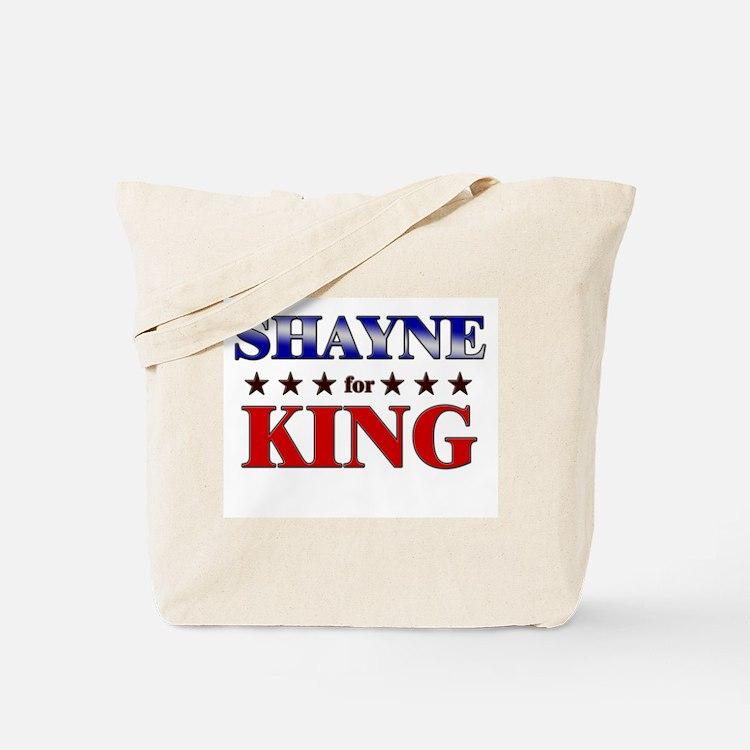 SHAYNE for king Tote Bag