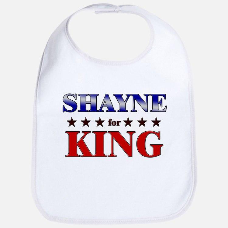 SHAYNE for king Bib