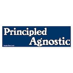 Principled Agnostic Bumper Bumper Sticker