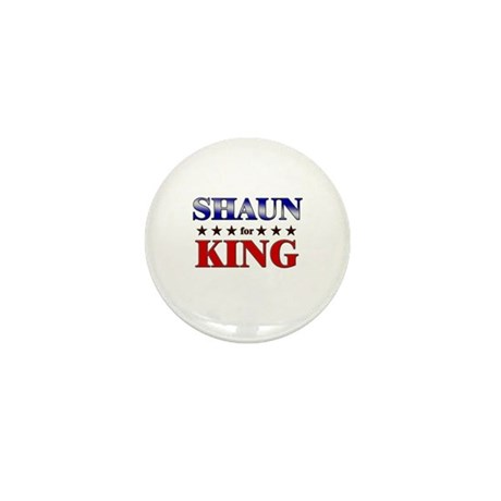 SHAUN for king Mini Button