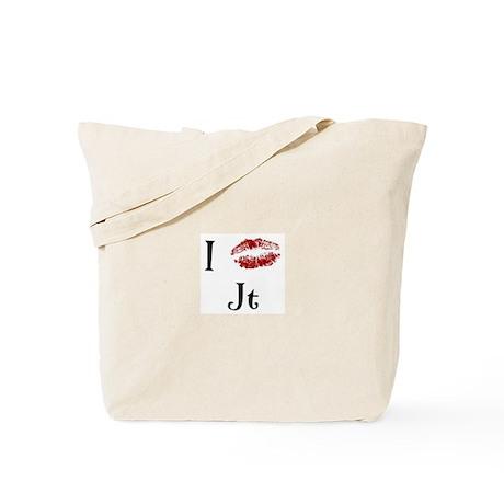 I Kissed Jt Tote Bag