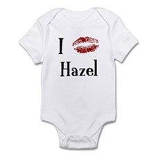 I Kissed Hazel Infant Bodysuit