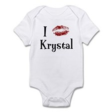 I Kissed Krystal Infant Bodysuit