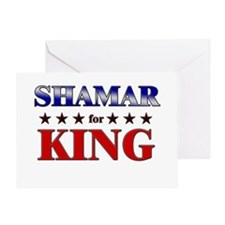 SHAMAR for king Greeting Card