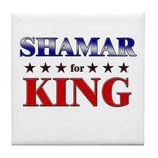 SHAMAR for king Tile Coaster