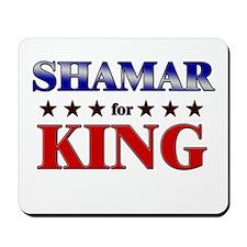SHAMAR for king Mousepad