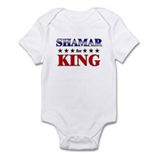 SHAMAR for king Infant Bodysuit
