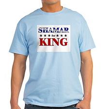 SHAMAR for king T-Shirt