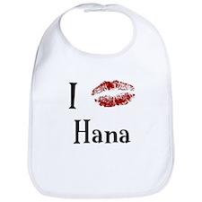 I Kissed Hana Bib
