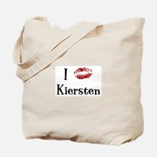 I Kissed Kiersten Tote Bag