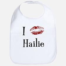 I Kissed Hailie Bib