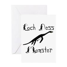 Loch Ness Monster Greeting Card