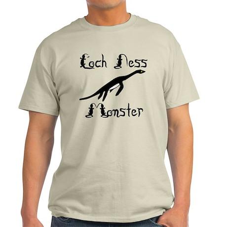 Loch Ness Monster Light T-Shirt