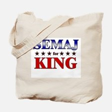 SEMAJ for king Tote Bag