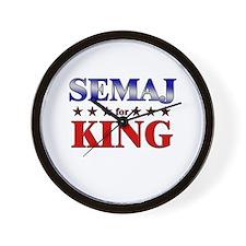 SEMAJ for king Wall Clock