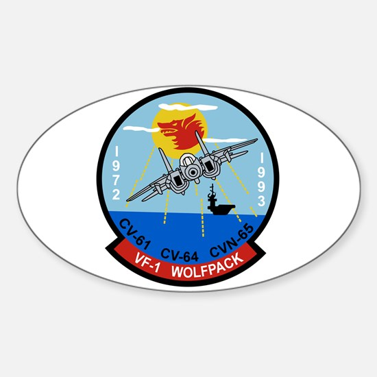 VF-1 Wolfpack Oval Decal