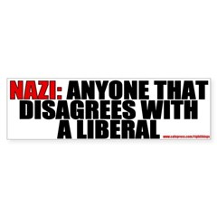 NAZI Conservative Bumper Bumper Sticker