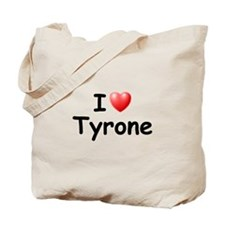 I Love Tyrone (Black) Tote Bag