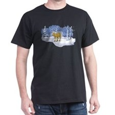 Scenic Winter Belgian Christmas T-Shirt