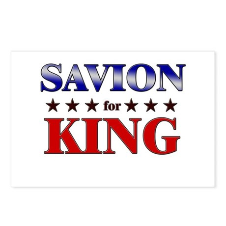 SAVION for king Postcards (Package of 8)