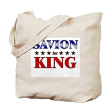 SAVION for king Tote Bag