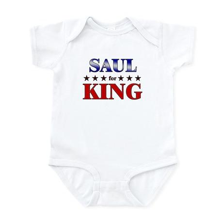 SAUL for king Infant Bodysuit