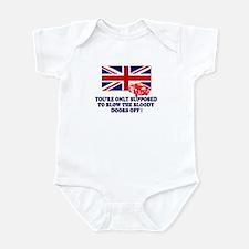 Italian Job Union Flag Infant Bodysuit