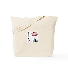 I Kissed Nadia Tote Bag