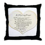 Marriage Prayer Throw Pillow