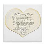 Marriage Prayer Tile Coaster